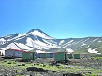 アバチャ山麓ベースキャンプ